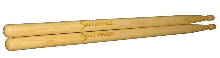 Have your personal photo engraved on a set of custom drumsticks