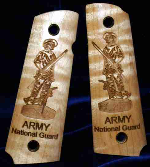 Army National Guard graphic engraving engraving