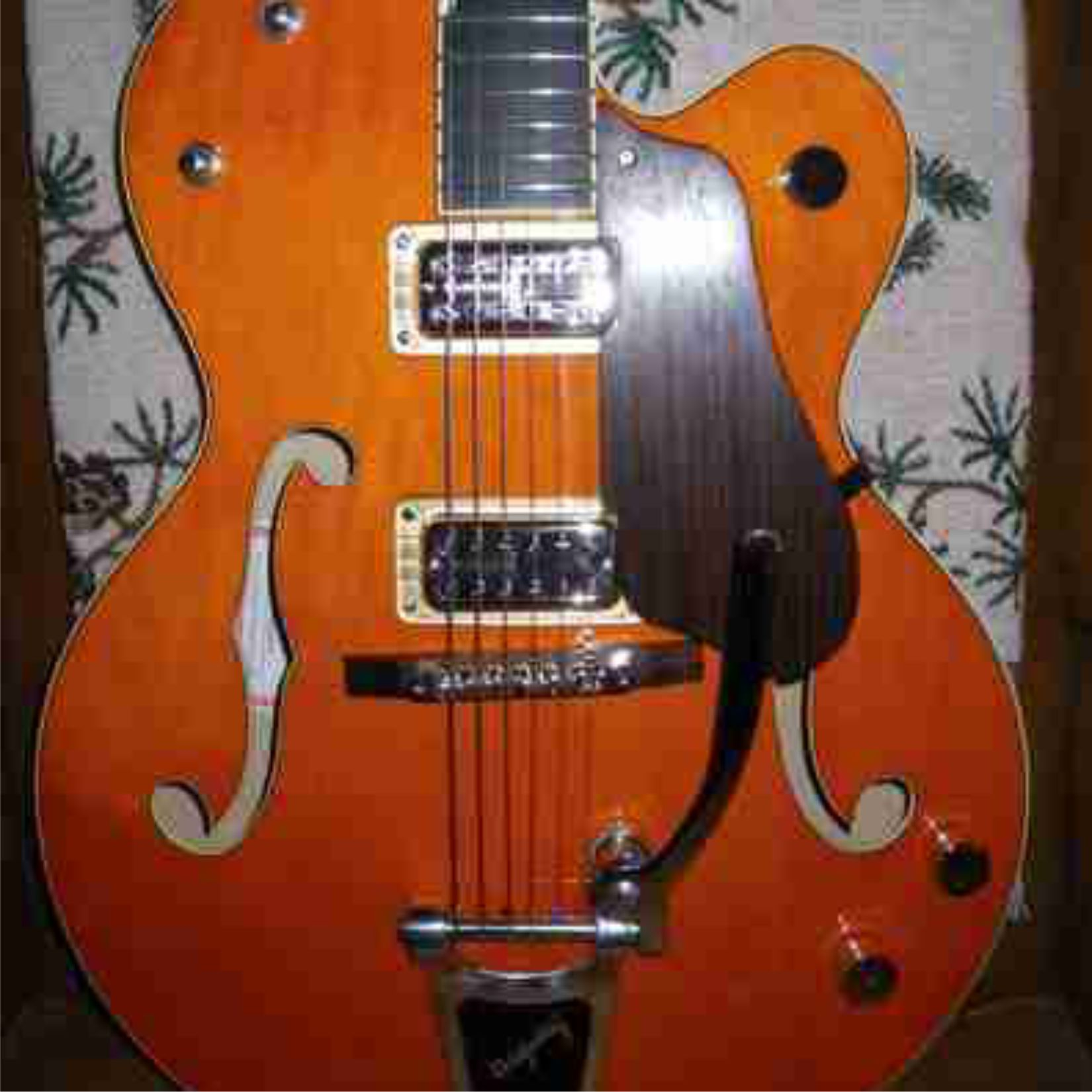 Gretsch With Custom Indian Rosewood Pickguard