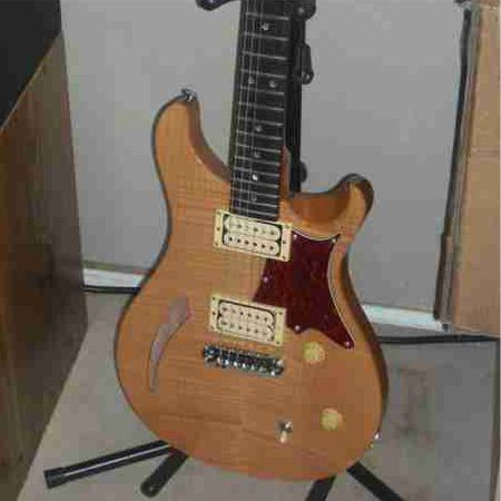 PRS SE With Custom Flame Maple Truss Rod Cover