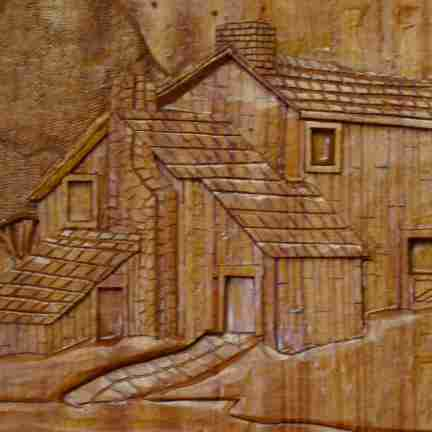 Ron Davidson carvings linked image
