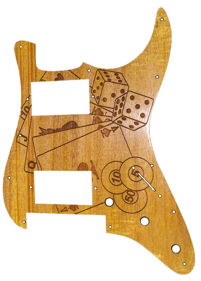 Custom pickguard cover link image